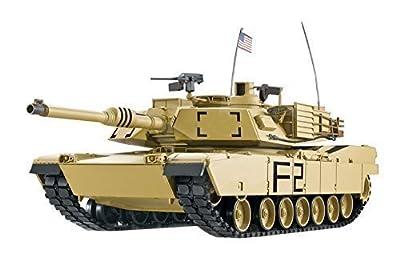 'RC Tank M1A2Abrams 1: 16HENG LONG SMOKE & SOUND + Metal Gears and 2.4GHz von Eksa-Trade Saglam&Eker GbR
