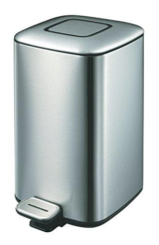 EKO Regent Poubelle à Pédale Métal Inox 24 x 32,8 x 40,5 cm 12 litres
