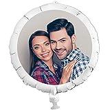 geburtstagsfee Personalisierter Foto-Ballon mit eigenem Foto, individuelle Überraschung XXL, mit Helium befüllbar, mit Heliumfüllung