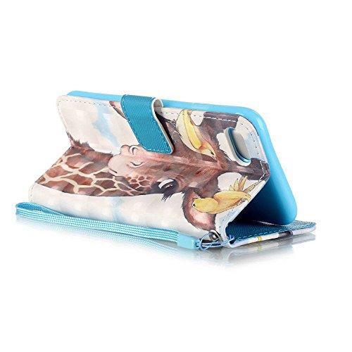 Eine Vielzahl von Farben XFAY HX-455 iPhone 7 Handyhülle Case für iPhone 7 Hülle im Bookstyle, PU Leder Flip Wallet Case Cover Schutzhülle für Apple iPhone 7-10 Farbe-13
