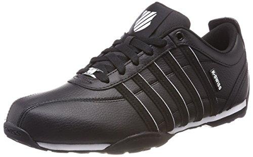 K-Swiss Herren Arvee 1.5 Sneaker, Schwarz (Black/White), 46 - Männer Schuhe Porsche