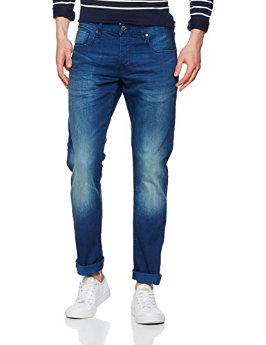 Scotch & Soda Herren Slim (Schmales Bein) Nos Ralston-Winter Spirit Blau (Winter Spirit 5C)