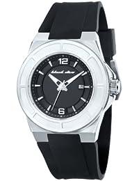 Black Dice BD 067 01 - Reloj analógico de cuarzo para hombre con correa de silicona, color negro
