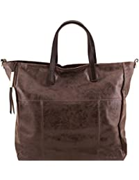 Tuscany Leather TL Bag - Bolso shopping en piel efecto antiguo