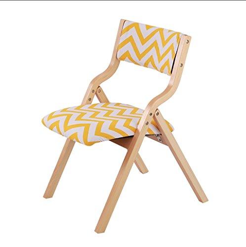 Chair QL Klappstühlen Esstisch Stuhl einfache stilvolle Holz Esszimmerstuhl Moderne komfortable Rückenlehne Stuhl Folding Schreibtisch Stuhl Restaurant Klappstühle (Farbe : P) -