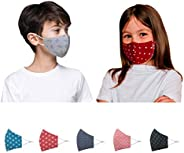Kawach Face Mask for Kids (Product of IIT Delhi Startup) | Reusable and Washable | 99% Filtration | Anti Pollu