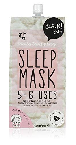 Oh K! Feuchtigkeitspendende Gesichtsmaske für Nacht – Creme-Schlafmaske