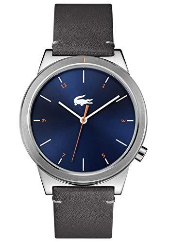 Lacoste Herren Analog Uhr Urban mit Leder Armband