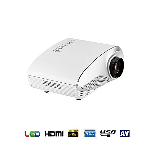 Mini Proyector, Kingcenton Video Proyector LED LCD Portatil HD Home Cinema 720P...