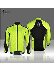 metebu (TM) 2016Nuevo Forro Polar Invierno energía protección forro polar térmico bicicleta de ciclo desgaste manga larga jersey chaqueta, XXXL