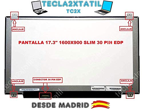 TECLA2XTATIL TC2X Pantalla para PORTATIL Lenovo IdeaPad 110-17ACL 17,3