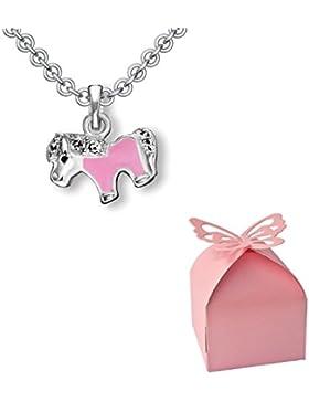 Einschulung Geschenk Mädchen Schulanfang ❤️ Pferde-kette *Kostenlose Geschenkbox* Geschenk zum Schulanfang Mädchen...