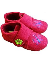 Grunland - Pantofole Bambino Bambina in Lana Seck (28 e921da6f328