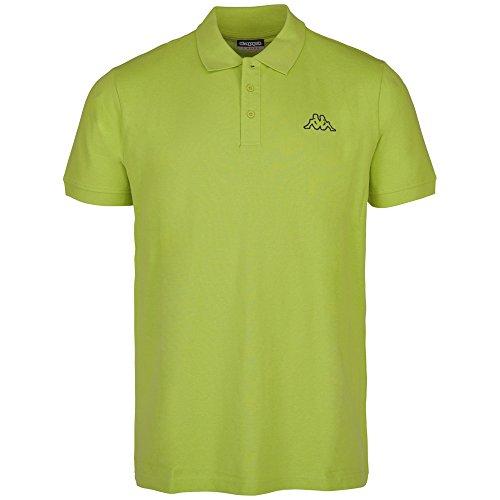 Kappa Herren Samul Polo Shirt 400 green glow