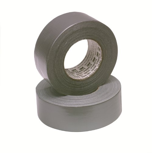 3M 7000028933 Gewebeklebeband, 3939, 48 mm x 55 m, Silber (24-er Pack)