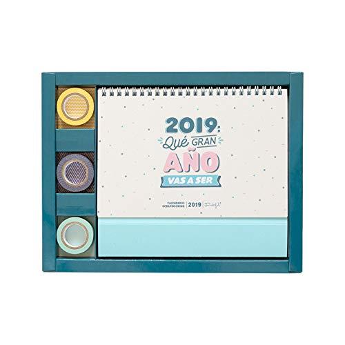Mr. Wonderful - Calendario scrapbooking 2019