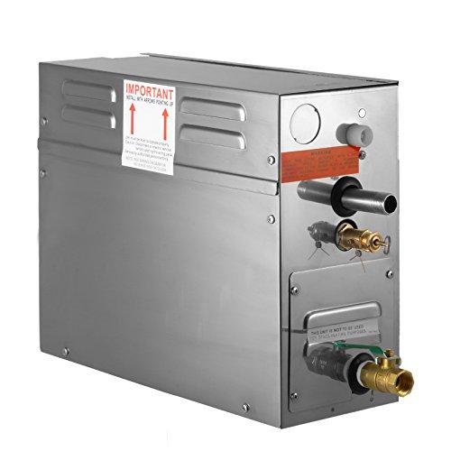 BuoQua 6KW Dampfgenerator Dusche Dampferzeuger Sauna Für Dampfbad Dampfdusche Und Dampfbäder Private Und Gewerbliche Dampfgerät