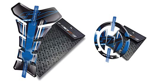 Tankpad et Cappad pour Suzuki SV 650 1000 (Bleu)