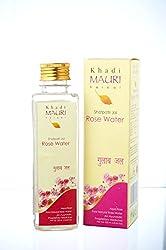KHADI Rose Water - Herbal Skin Toner & Natural Cleanser Gulab Jal - 250 ml