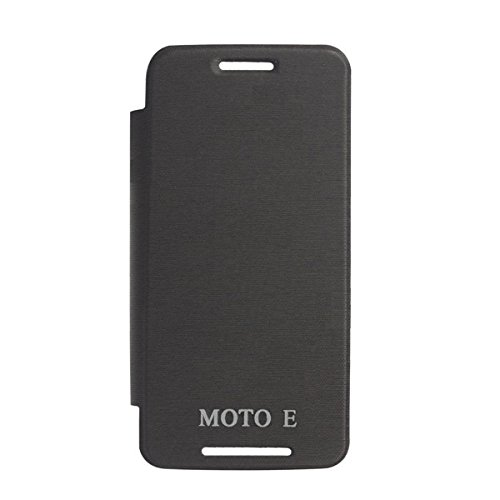 YGS Flip Cover Case for Motorola Moto E (XT 1022) Black  available at amazon for Rs.199