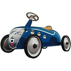 Baghera LPN828 Macchina cavalcabile vintage in metallo Rider Blu Peugeot