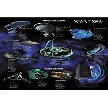 STAR TREK–Ships–68,5x 101,5cm mostra/Poster
