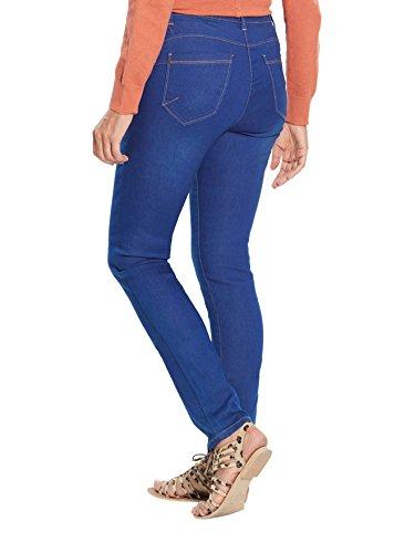 Balsamik - Jean slim push-up, je mesure - d1,60m - femme Bleu surteint