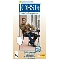 Jobst for Men Casual Support Socks Over-the-Calf 30-40mmHg Large Full Calf, Khaki by Jobst preisvergleich bei billige-tabletten.eu