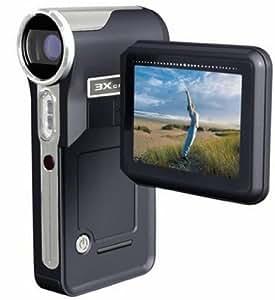 Toshiba Caméscope  Camileo Pro avec lecteur numérique/enregistreur vocal 7 mégapixel zoom optique : 3 x mémoire prise en charge : MMC, SD