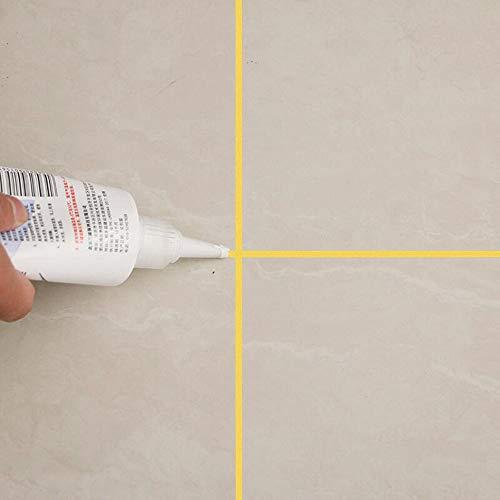 TianranRT Fliese Agent LüCke NachfüLlung Reform Wasserdicht Haus FormbestäNdig FugenmöRtel Versiegelung Neu Tile Refill Home Mouldproof Fliesen (Gold) -