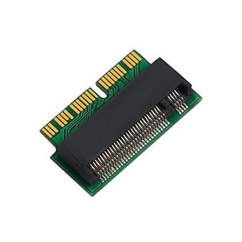 QNINE M.2 Adaptador convertidor NVME SSD MacBook Air