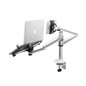 zolion adjustable aluminium desk monitor stand monitor bracket clamp tilt u0026 swivel desk monitor stands