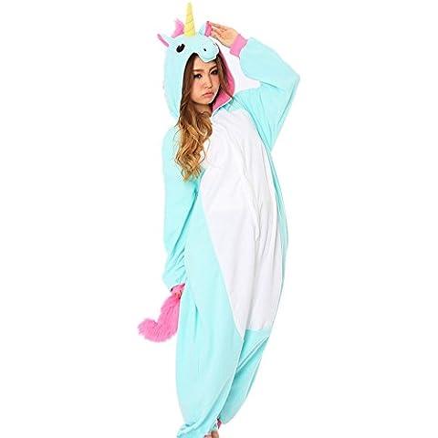 Rhh Adulto Unisex Onesies Kigurumi Pigiama Animale Costumi Cosplay Del