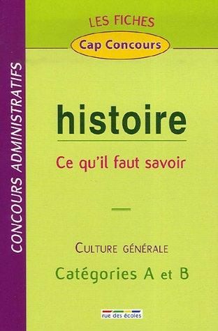 Histoire : Ce qu'il faut savoir