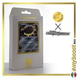 Ferrothorn 103/181 Holo Reverse - #myboost X Sole E Luna 9 Gioco di Squadra - Box de 10 Cartas Pokémon Italiano