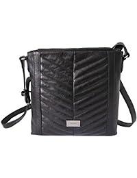 77ece90c23c3e PICARD Umhängetasche Angel Damentasche Rindsleder Reißverschluss  Schulterriemen schwarz