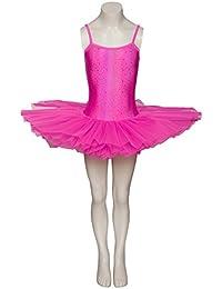 Hot Pink Star Print Dance Ballet Leotard Tutu Childs Ladies Sizes halloween By Katz Dancewear
