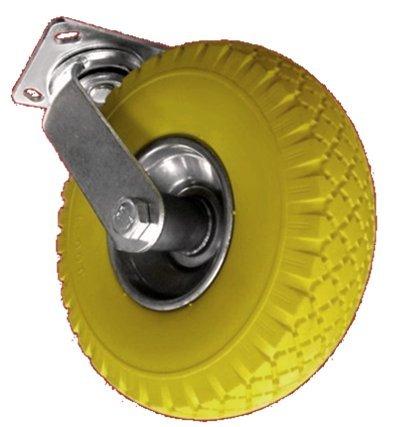 DKB Lenkrolle - Bockrolle oder im Set mit PU Rad Ø 210 mm und Metallfelge (Lenkrolle) -
