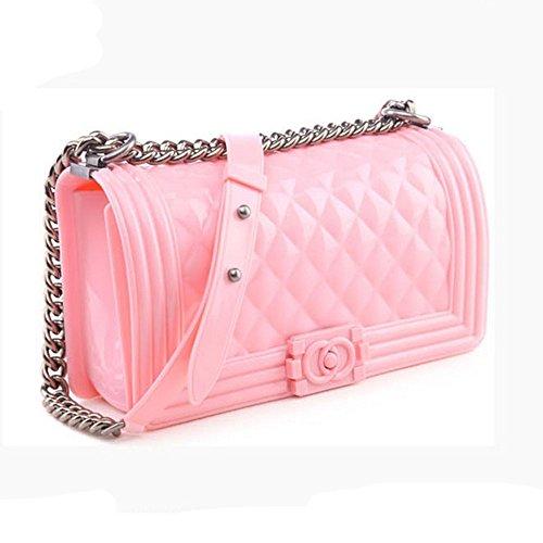 Eysee, Poschette giorno donna Rosa verde 25cm*15cm*8cm Pink