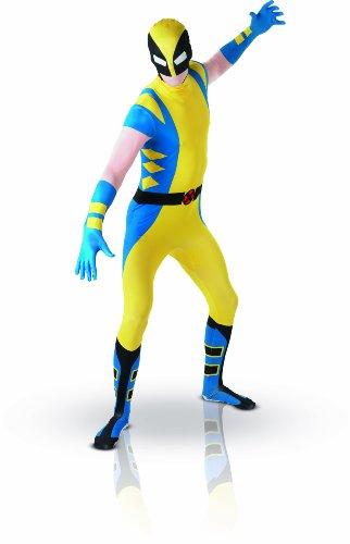 Alternativen Kostüm Wolverine - Rubie's Wolverine - 2nd Skin - erwachsenes Abendkleid-Kostüm-Kleid - Large - 5'4