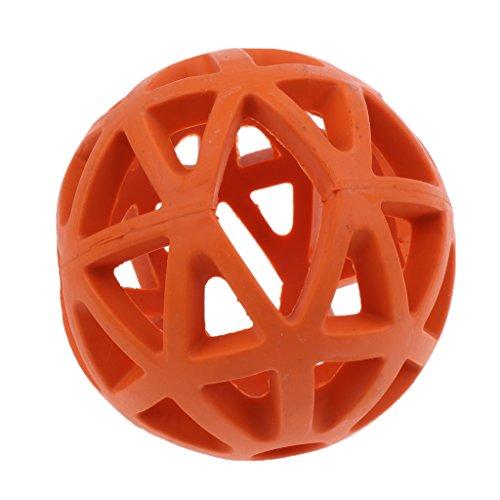 LOVIVER Pet Puppy Fetch Ball Spielzeug Behandelt Und Kaut Zähne Training Spielzeug - Orangen - S -