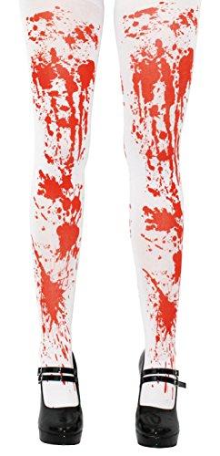 BLUT VERSCHMIERTE STRUMPFHOSE IN EINER EINHEITSGRÖßE UND IN 4 VERSCHIEDENEN STÜCKZAHLEN== 1 STRUMPFHOSE (Bekleidung Blut)