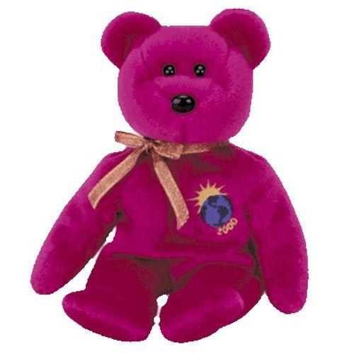 ty-millennium-the-bear-beanie-toy