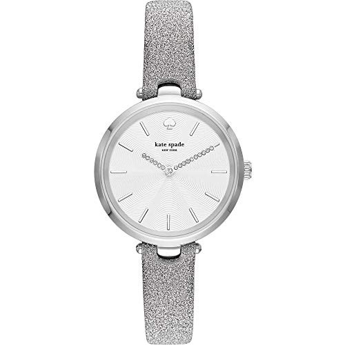 Kate Spade Holland KSW1475 - Reloj metálico para Mujer, Color Plateado