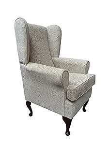 orthop discher ohrensessel mit hohem sitzkissen sitzh he 53 cm fest und bequem. Black Bedroom Furniture Sets. Home Design Ideas