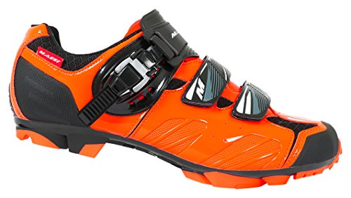 Massi Akkron Ignite - Zapatillas para Hombre, Color Negro/Naranja, Talla 41