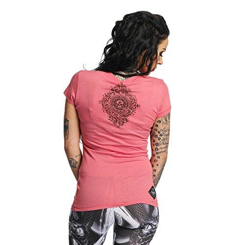 Yakuza Original Damen Don't Trust Me T-Shirt Tea Rose