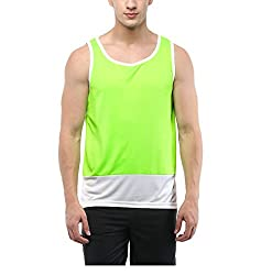 Yepme Mens Multicoloured Poly Cotton Muscle Vests - YPMMVST0085_S