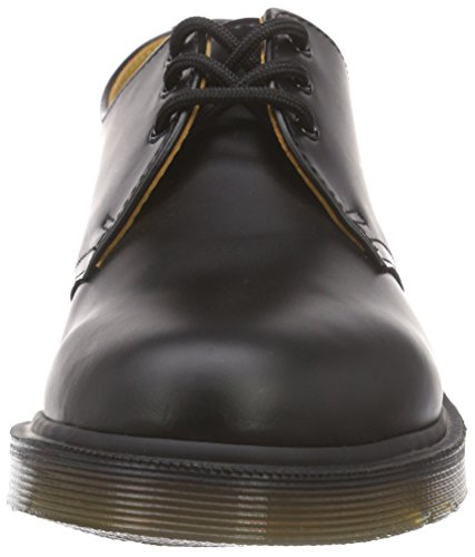 Dr. Martens 1461Z Smooth Cherry Scarpe Basse Stringate, Unisex Adulto Nero (Black Smooth Pw)