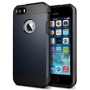 Spigen SGP10490 Tough Armor Series Metal Slate Case für Apple iPhone 5S/5